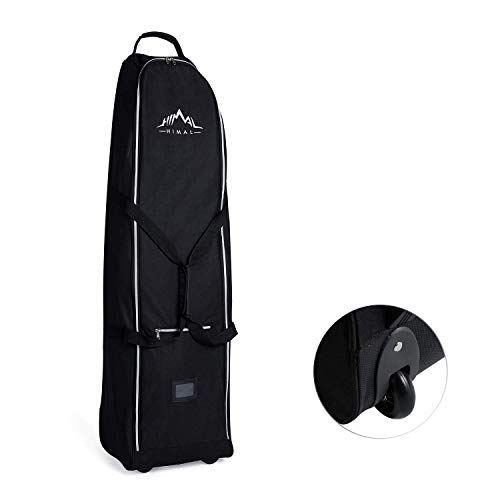 Himal Soft-Sided Golf Travel Bag - Heavy Duty 600D...