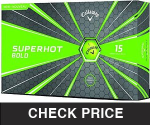 Callaway Golf Superhot Bold Matte Golf Balls