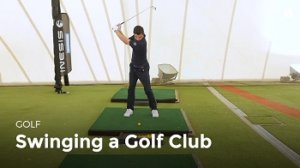 Swing a Golf Club